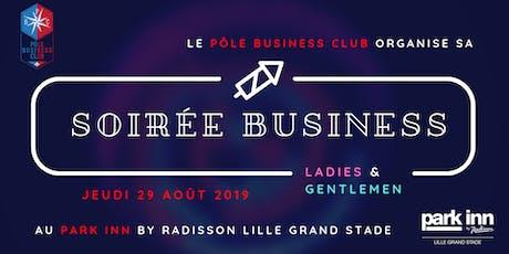 Soirée business ladies and gentlemen billets