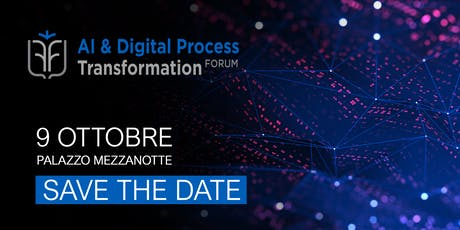 Le Fonti AI & Digital Process Transformation Forum tickets