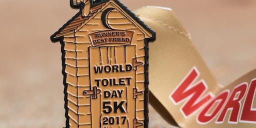 Now Only $7! World Toilet Day 5K! - Washington
