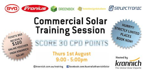 BYD, Fronius, Selectronic & GreenBox Commercial Training tickets