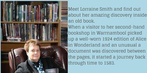 The Journey of the Lost Manuscript - meet the author Lorraine Smith @ Korumburra Library