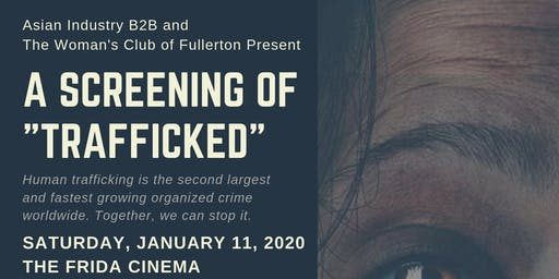 "AIB2B Presents a Screening of ""Trafficked"" at the Frida Cinema"