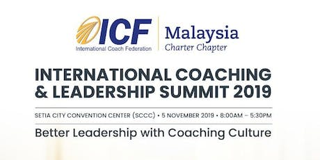 International Coaching & Leadership Summit 2019 tickets