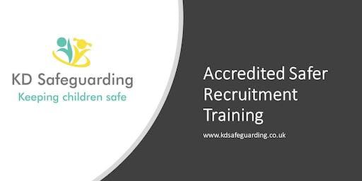 Accredited Safer Recruitment Training - BURY
