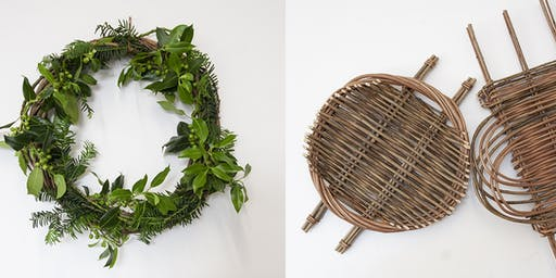 Christmas Wreath and Platter Making with Sarah Gardner (30 November 2019)