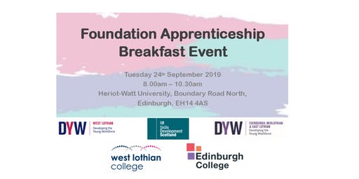 Foundation Apprenticeship Breakfast Event