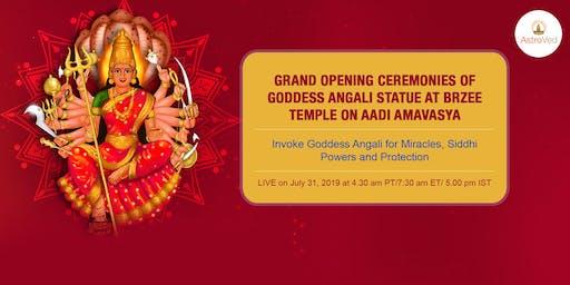 Dr.Pillai Unveils Angali - Goddess Of  Siddhi Powers