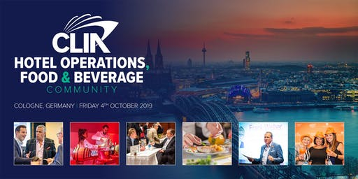 CLIA Hotel Operations, Food & Beverage at ANUGA