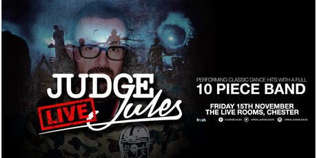 Judge Jules LIVE feat 10 Piece Band tickets