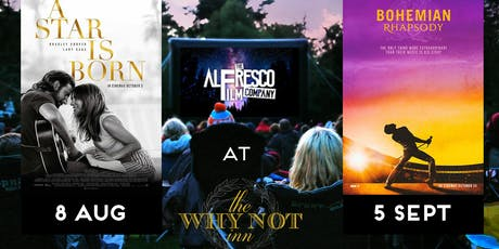 Why Not Alfresco Cinema - Bohemian Rhapsody tickets