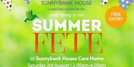 Sunnybank House Summer Fete