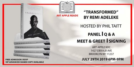 "Remi Adeleke  ""Transformed"" Book Signing tickets"