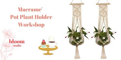 Pot Plant Holder Pouch Design **NEW tickets
