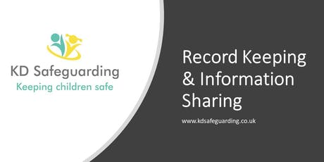 Record Keeping & Information Sharing - BURY  tickets
