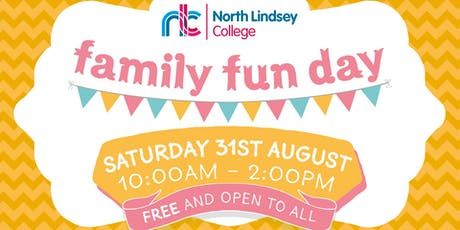 North Lindsey College Family Fun Day - Saturday 31st August tickets