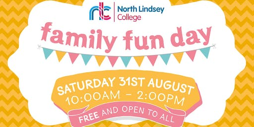 North Lindsey College Family Fun Day - Saturday 31st August