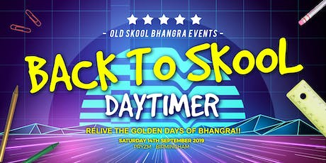 Back to Skool Daytimer tickets