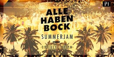 ALLE HABEN BOCK - SUMMERJAM / 29.07.2019 / Ü16 Party im P1 Club