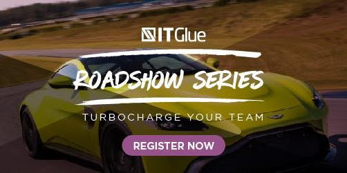 Turbocharge your I.T. Team  - IT Glue Roadshow & Aston Martin Experience
