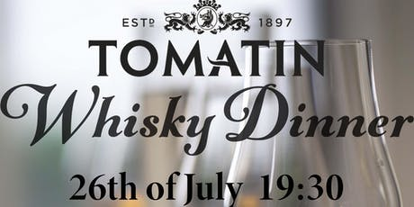 Tomatin Whisky Tasting Dinner tickets