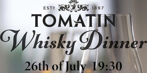 Tomatin Whisky Tasting Dinner