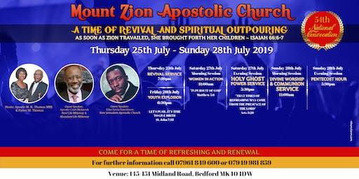 Mount Zion Apostolic Church 54th National Convocation