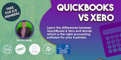 QuickBooks vs Xero tickets