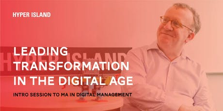 LEADING TRANSFORMATION IN THE DIGITAL AGE tickets