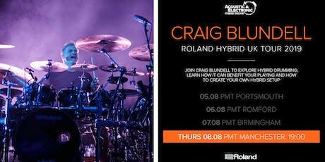 Craig Blundell Drum Clinic - PMT Manchester tickets