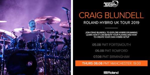 Craig Blundell Drum Clinic - PMT Manchester