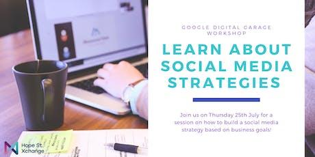 Social Media Strategy with Google Digital Garage tickets