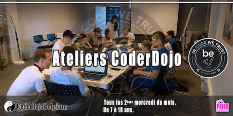 [CoderDojo] BeCode Liège - 14/08/2019 billets