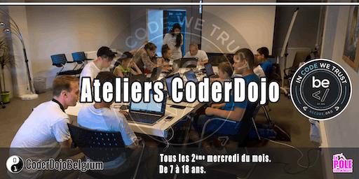 [CoderDojo] BeCode Liège - 14/08/2019