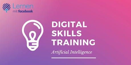 Digital Skills Training by Facebook - Artificial Intelligence Tickets