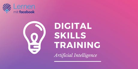 Digital Skills Training by Facebook - Artificial Intelligence Tickets