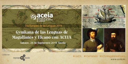 Gymkana de las Lenguas de Magallanes Elcano con ACEIA