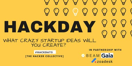 HACKDAYS #2: Prototype your startup idea in one day tickets