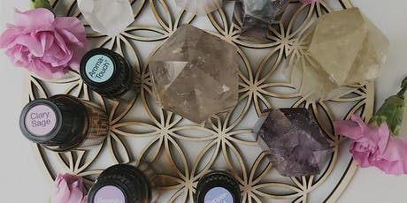 Raising Your Vibration with Crystals & Essential Oils tickets