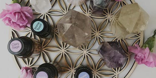 Raising Your Vibration with Crystals & Essential Oils