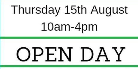 AAT open day tickets