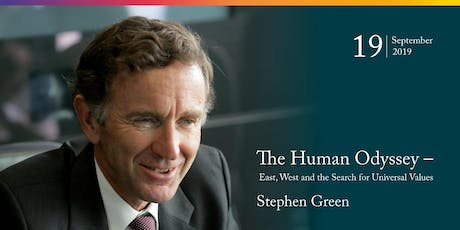 Stephen Green: The Human Odyssey - East, West and the Search for Universal Values tickets