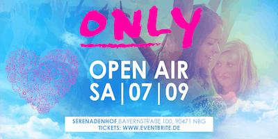 ONLY Open Air | Samstag 07.09 | Serenadenhof