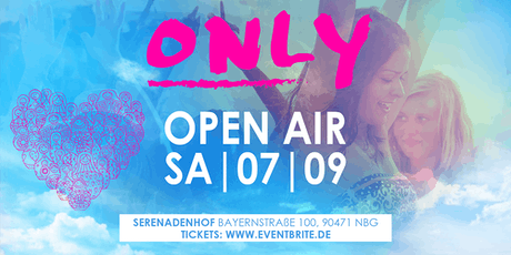 ONLY Open Air | Samstag 07.09 | Serenadenhof Tickets