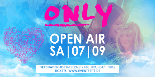 ONLY Open Air | Samstag 07.09 | Serenadenhof