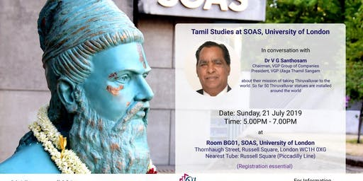 Conversation with Dr V G Santhosam