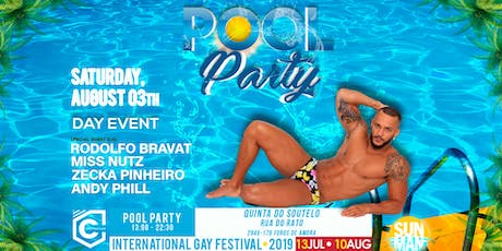 Pool Party (03th August) - DAY and NIGHT tickets