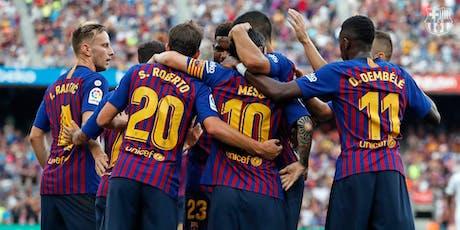 FC Barcelona v Real Valladolid CF - VIP Hospitality Tickets billets