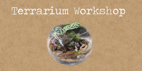 Terrarium Workshop with Rock Leaf Moss @ Teesdale tickets