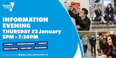 Yeovil College Information Evening - June 2020