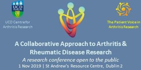 2nd Annual Collaborative Approach to Arthritis & RMD Research Conference tickets